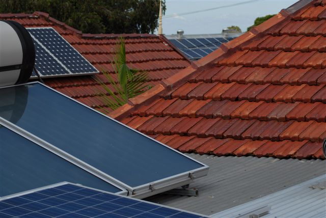 There are many solar systems installed in Australia