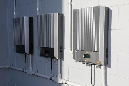 Inverters are ususally mounted near switchboards or meters in your home